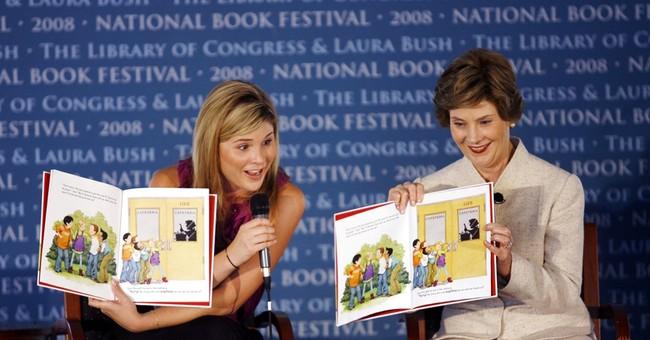 Laura Bush and daughter Jenna co-writing children's book