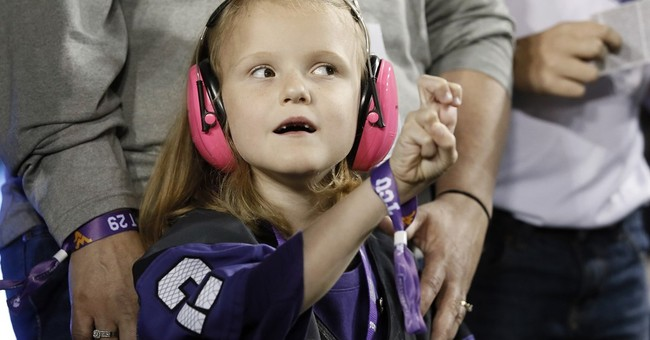 7-year-old Iowa State fan attends TCU game