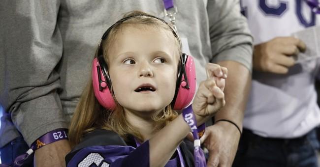 7-year-old Iowa State fan attends TCU game