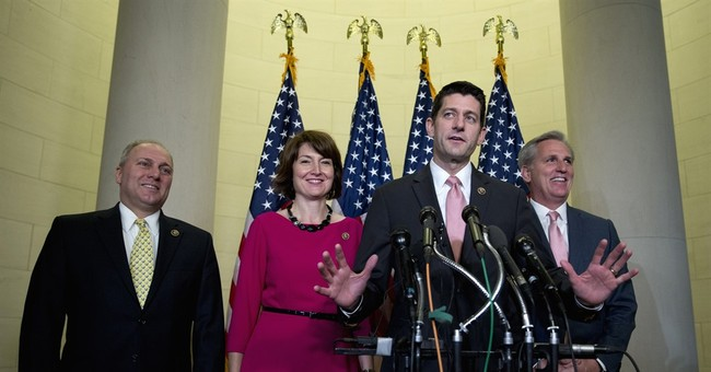 The Latest: Lawmakers line up for photos with Paul Ryan