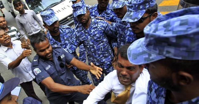 VP's arrest highlights Maldives' fractious democracy