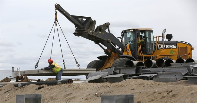 AP PHOTOS: Recovery, rebuilding 3 years after Sandy