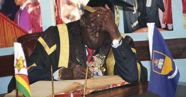 Zimbabwean university staffer suspended in Mugabe cap mishap