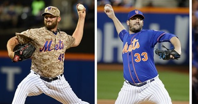 Fashion show: Mets pitchers pick uniform when they start