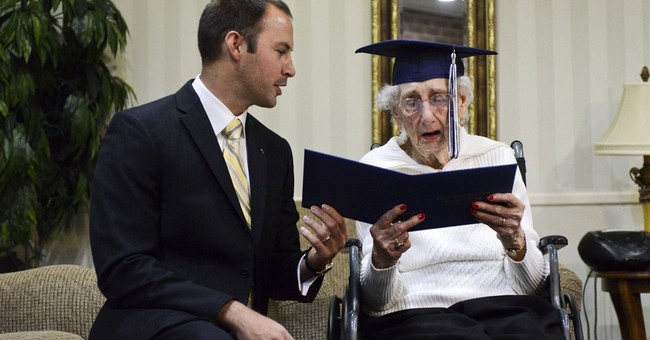 97-year-old Michigan woman receives high school diploma