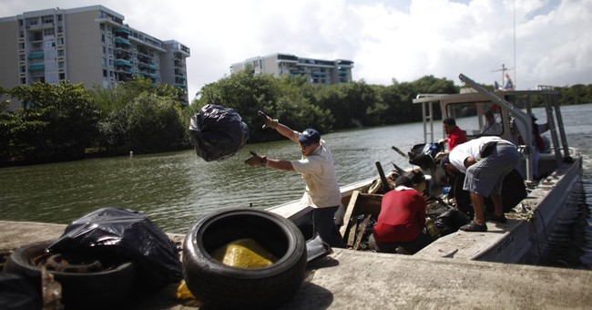 US to clean 1 of Puerto Rico's worst polluted waterways