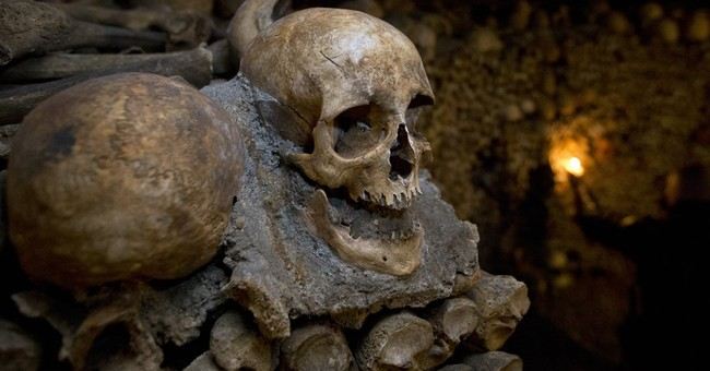 Breakfast with skulls: Halloween night in Paris Catacombs