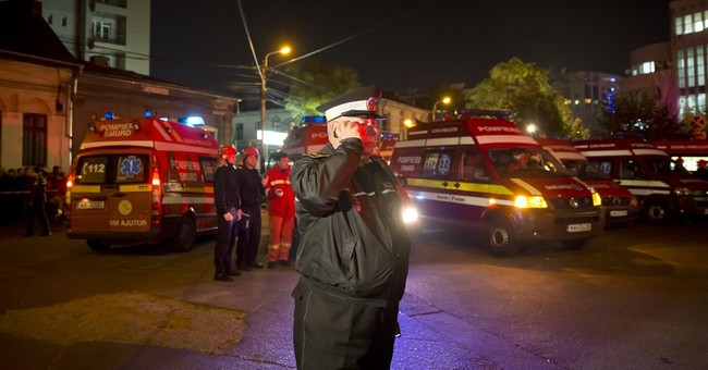 Interior minister: 27 dead in club fire in Bucharest