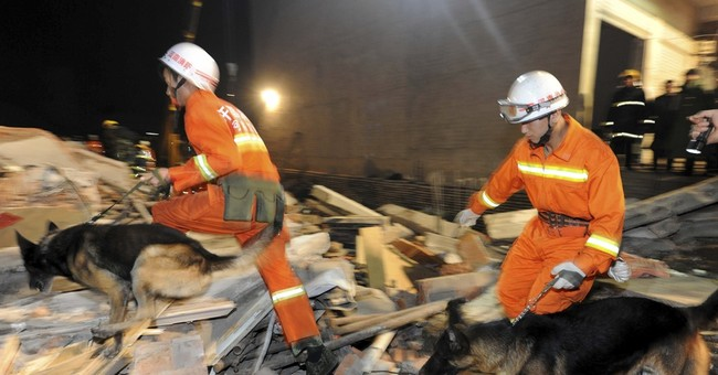 17 killed in building collapse in central China
