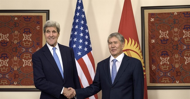 In Central Asia, Kerry talks to autocratic cast of nations
