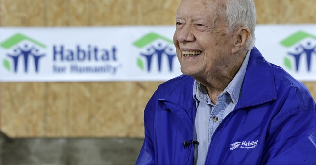 Jimmy Carter says he feels fine, keeps busy despite cancer