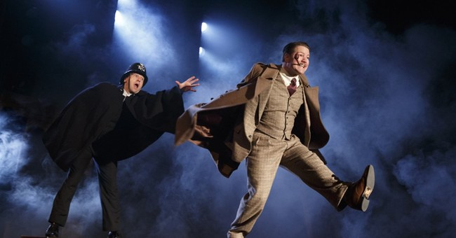 Hectic and fun '39 Steps' closing off-Broadway this January