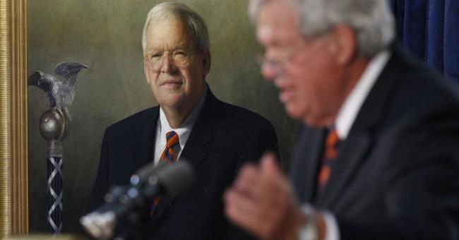 Ex-Speaker Hastert's portrait removed from House hallway