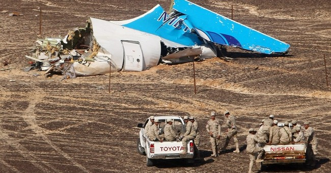 The Latest: Countries warned of dangers flying over Sinai