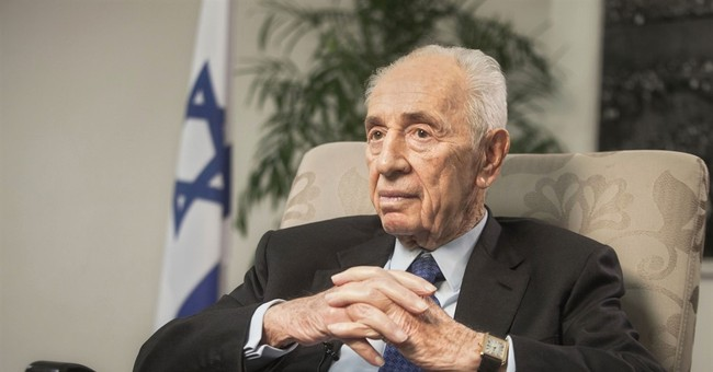 AP Interview: Peres says Israel could face an eternal war