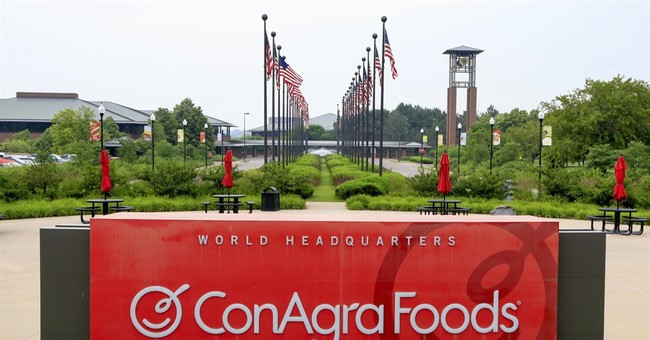 ConAgra selling private label unit to TreeHouse Foods