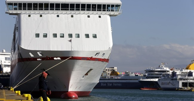 Greek ferry seamen extend strike for 2 more days