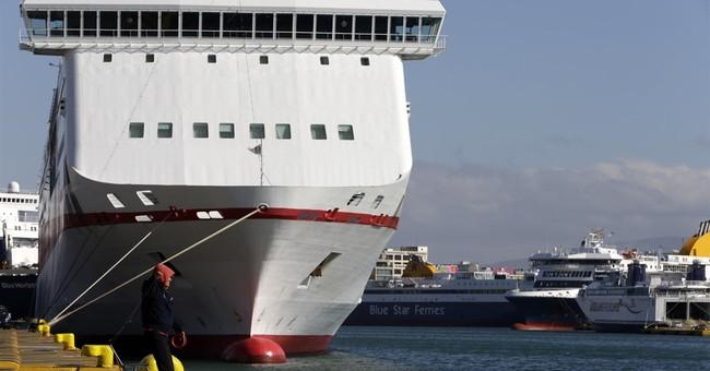 Greek ferry seamen extend strike for 2 more days