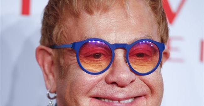 Elton John reflects on past year at annual AIDS gala