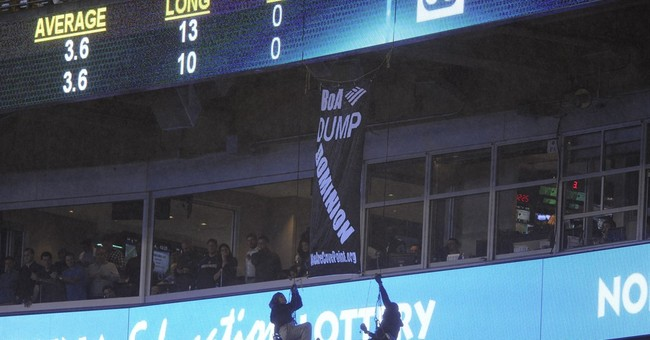 NFL, Panthers investigate rappelling protesters incident