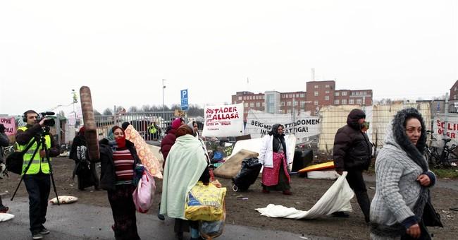 Swedish police evacuate Roma camp deemed unsanitary