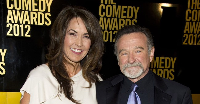 Robin Williams' widow: I forgive him for taking his life