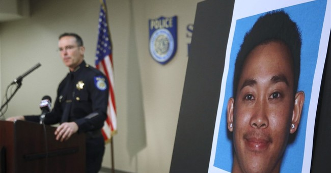 Man arrested in California stabbing of French train hero
