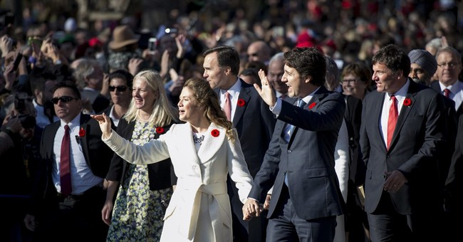 Justin Trudeau sworn in as Canada's new prime minister
