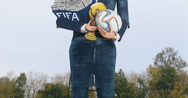 Sepp Blatter latest celebrity to be burned in effigy
