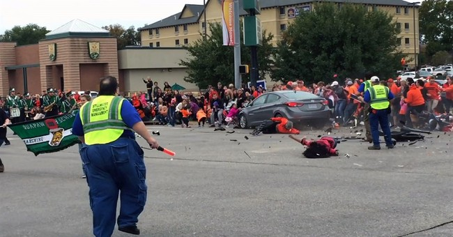 Oklahoma woman charged in parade crash that killed 4