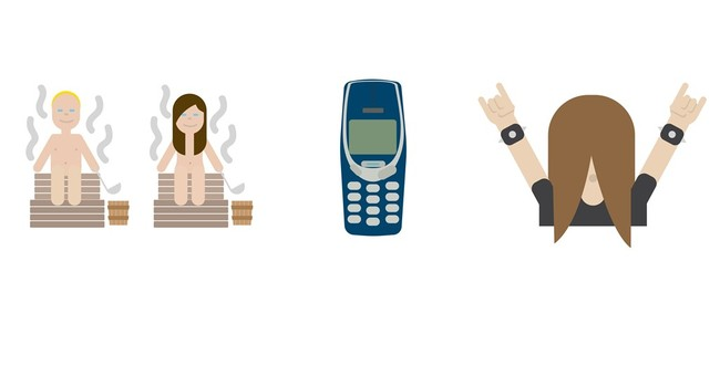 Saunas and metal rockers: Finland to launch national emojis