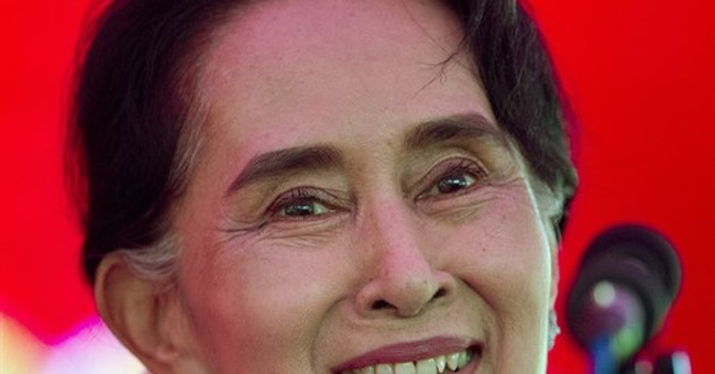 Myanmar's Suu Kyi eyes post 'above the president'