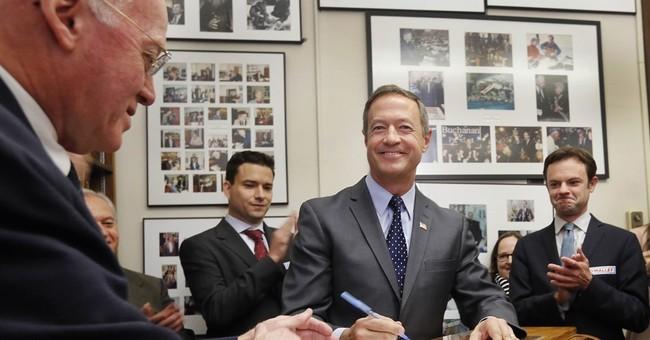 Trump, O'Malley file for New Hampshire primary ballot