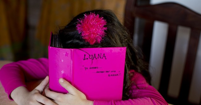 For transgender community, Argentine girl sign of hope