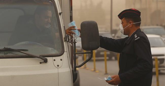 Mideast sandstorm disrupts Michelle Obama's trip to Jordan