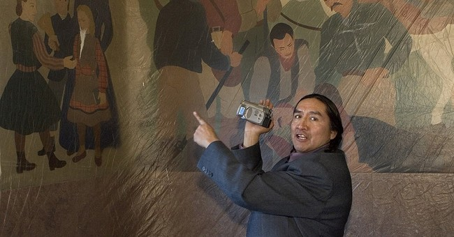 Idaho lynching murals in old county courthouse spark debate