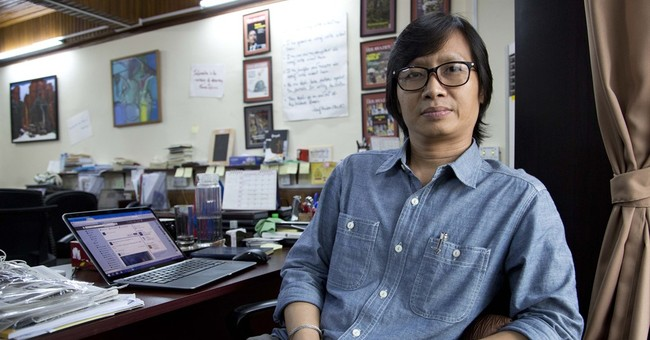 Myanmar's fledgling journalists gird for historic election