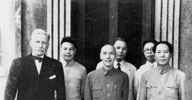 Photo shows last meeting of Nationalist, Communist leaders