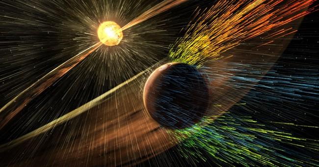 NASA: Sun stripping away Martian atmosphere, left dry planet