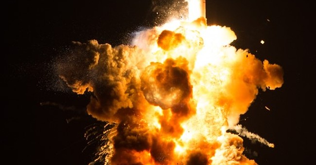 New NASA photos show massive rocket explosion in Virginia