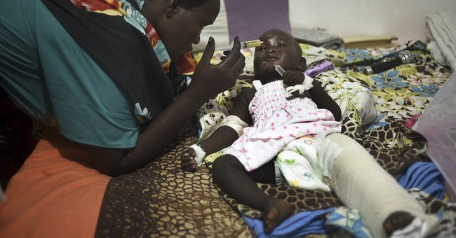 Witness: Baby survived S.Sudan plane crash in man's arms