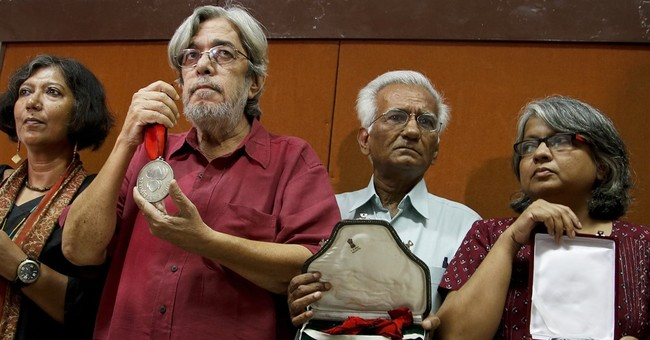 Bollywood figures, writer Roy join protest over intolerance