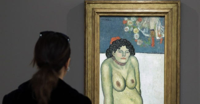 Picasso nude portrait fetches over $67 million at NY auction