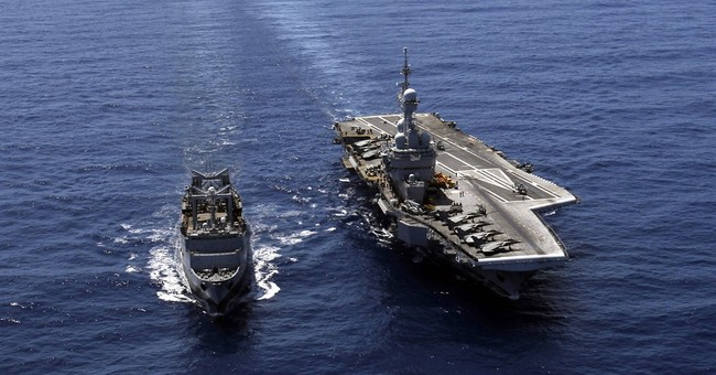 France deploying aircraft carrier to help fight against IS