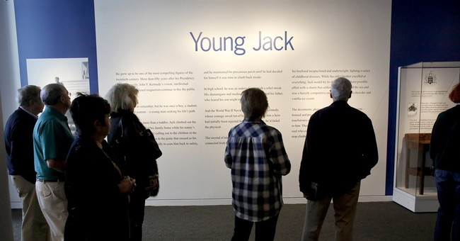 JFK's crutches, school desk displayed in new Boston exhibit