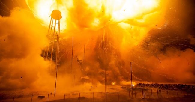 New NASA photos show massive rocket explosion in Virginia