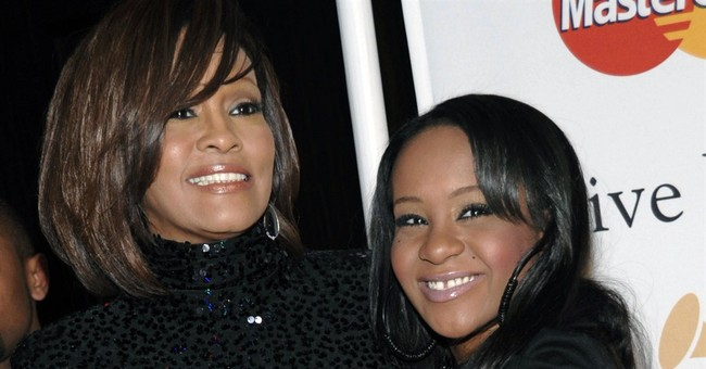 Messages of support for Whitney Houston's daughter