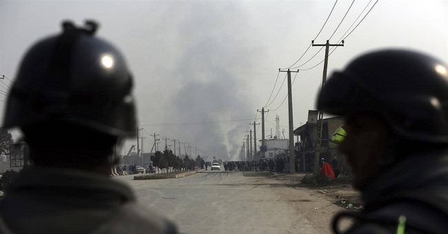 Anti-Charlie Hebdo protest in Kabul turns violent