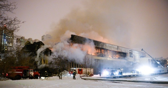 Fire devastates major Russian library, threatens rare texts