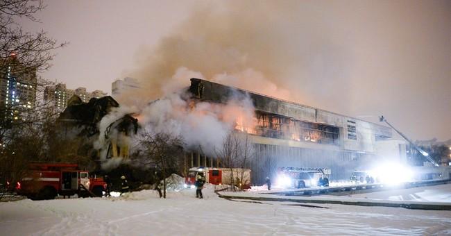 Fire devastates major Russian library, threatens rare texts